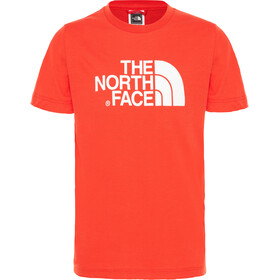 The North Face Easy Shortsleeve Shirt Children red/white
